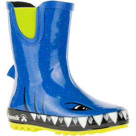 Kamik Sharky Rubber Boots Kids Strong Blue